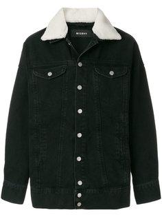 джинсовая куртка из овчины Misbhv