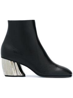 ботинки на контрастном каблуке Proenza Schouler