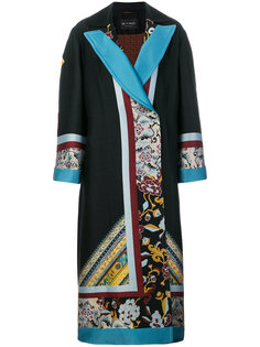 пальто с узором  Etro