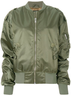 атласная куртка-бомбер  Misbhv