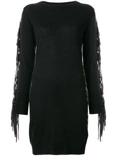 приталенное платье с бахромой Gaelle Bonheur