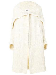 пальто с объемным воротником Yohji Yamamoto