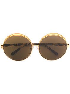 объемные солнцезащитные очки Linda Farrow Gallery