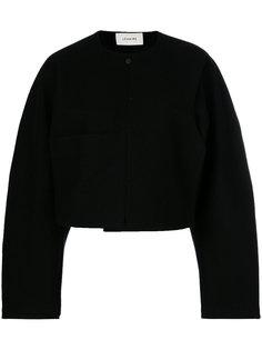укороченная структурированная куртка Lemaire