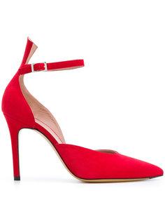 туфли-лодочки с заостренным носком и ремешком Antonio Barbato
