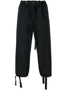 укороченные брюки свободного кроя Takahiromiyashita The Soloist