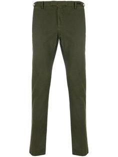 брюки-чинос с необработанными краями Pt01