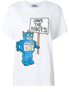 футболка с принтом Save the Robots Jeremy Scott