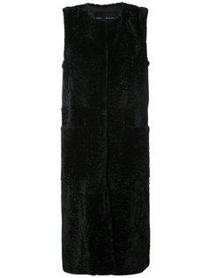 приталенное пальто без рукавов Proenza Schouler