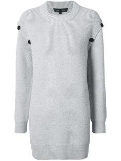 свитер декорированный пуговицами Proenza Schouler