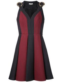 платье в стиле колор блок Delpozo