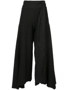 расклешенные брюки Baja East