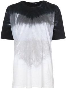 футболка с принтом тай-дай Baja East