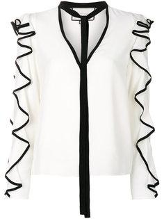 блузка с оборками Alexis