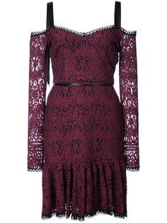 кружевное платье Alexis