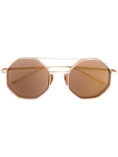 солнцезащитные очки в двойной оправе Maska