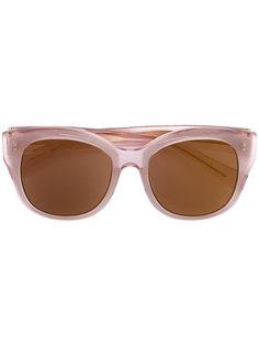 солнцезащитные очки в круглой оправе Maska
