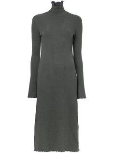 трикотажное платье-свитер Le Ciel Bleu