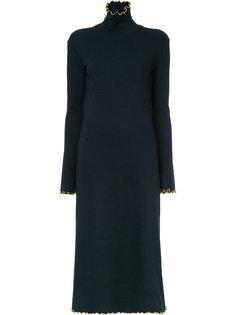 платье-свитер в рубчик Le Ciel Bleu