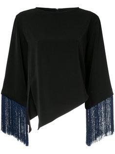 блузка с бахромой Le Ciel Bleu