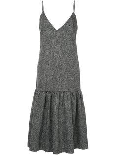 расклешенное платье с V-образным вырезом Le Ciel Bleu