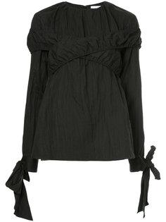 блузка с эффектом помятости Irene
