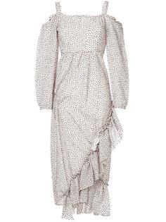 платье с открытыми плечами Irene