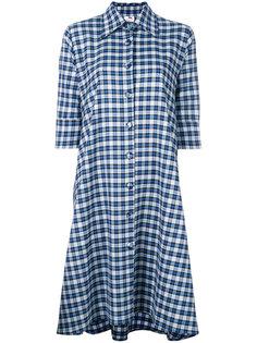 клетчатое платье-рубашка Ultràchic
