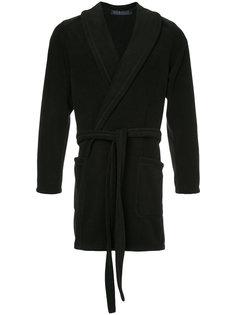 пальто с завязками на поясе Harris Wharf London