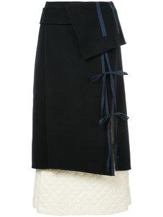 стеганая юбка Irene