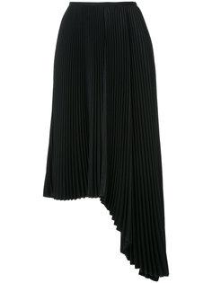 асимметричная плиссированная юбка Irene