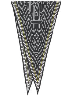 треугольный шарф с узором Haider Ackermann