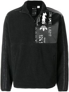 флисовая толстовка на молнии Adidas Originals By Alexander Wang