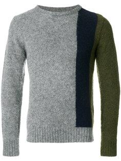 свитер дизайна колор-блок Howlin