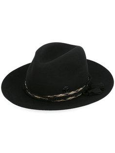 шляпа с кисточкой Maison Michel