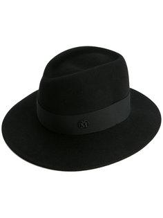 шляпа с логотипом Maison Michel