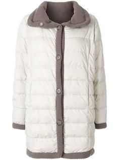 дутое пальто Le Tricot Perugia