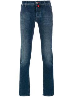 прямые джинсы с эффектом обесцвечивания Jacob Cohen