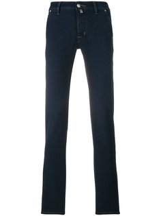 джинсы кроя слим с платком паше Jacob Cohen