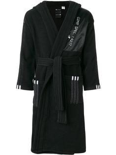 длинное флисовое пальто Adidas Originals By Alexander Wang