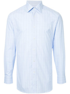 классическая рубашка в клетку Gieves & Hawkes