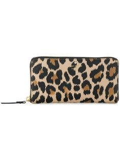 кошелек с леопардовым узором Kate Spade