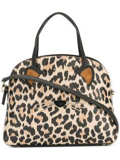 сумка-тоут с леопардовым принтом Kate Spade