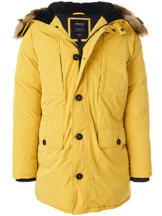 пальто-пуховик с капюшоном Armani Jeans