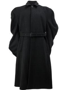 однобортное пальто с поясом Y / Project