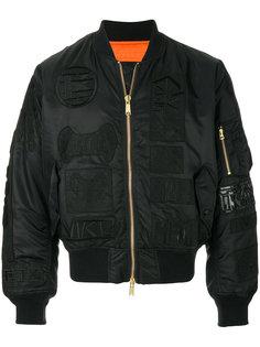 классическая куртка-бомбер KTZ