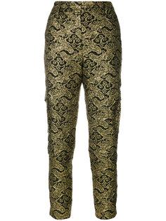 жаккардовые брюки узкого кроя Dorothee Schumacher