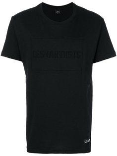 футболка с принтом-логотипом Les (Art)Ists