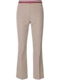 клетчатые укороченные брюки Dorothee Schumacher
