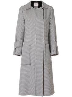 пальто с поясом в ломаную клетку Dorothee Schumacher